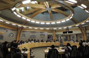 RCY's Office at Nunavut's Youth Parliament