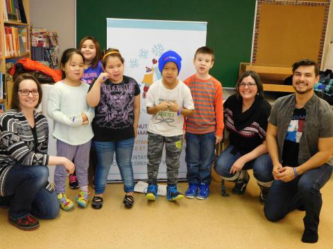 RCY's Office Visits Arviat